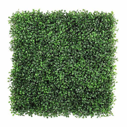 3.5 ft. H x 3.5 ft. W Artificial Planes Milan Hedge Fencing Artificial Bxowood Plants Mat Privacy Fence Screen Faux Wall Panels