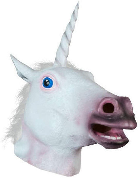 Halloween Unicorn Animal Mask Latex Mask For Party Halloween Costume