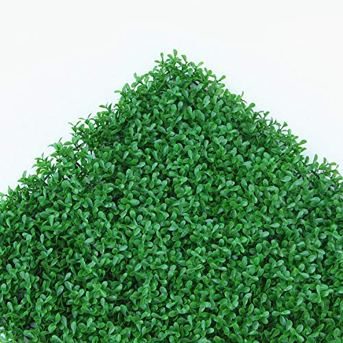Artificial Hedge Plant Topiary Screen Panels Privacy Hedge Screen for Outdoor,Indoor, Garden, Fence, Backyard