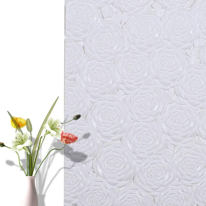 "3D Embossed Peel and Stick Wallpaper Panel (2.37"" x 2.37"" )"