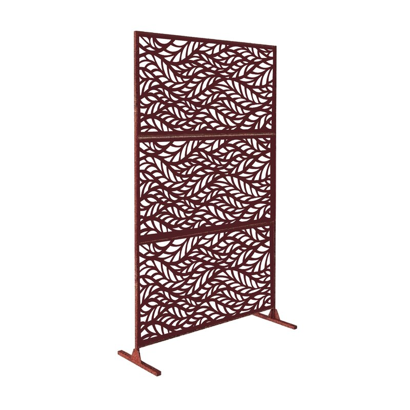 6 ft. H x 4 ft. W Metal Privacy Screen
