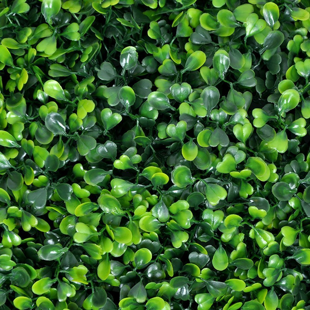 Artificial Boxwood Panels Topiary Hedge Plant UV Protected Privacy Screen  Fence Wall Cover, Outdoor Privacy Fence Screening Garden Decoration