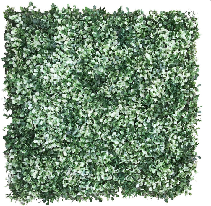Artificial Topiary Hedge Plant Topiary Hedge Boxwood Plant Privacy Screen for Wedding, Party, Outdoor Event