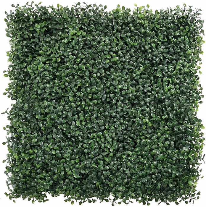 E-Joy Boxwood Hedges Artificial Topiary UV Resistant Topiary Hedge Great Sound Diffuser Privacy Fence Screen