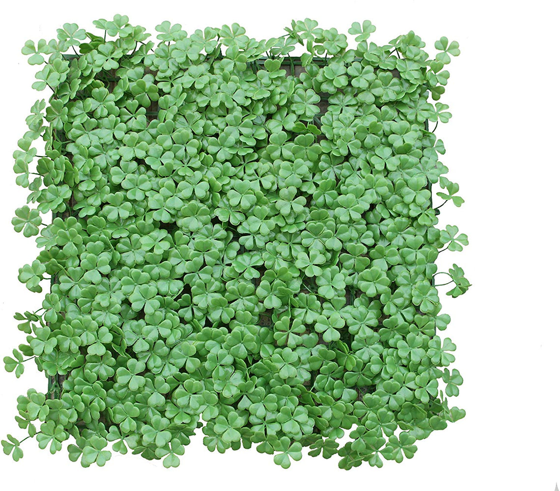 E-Joy Artificial Hedge Plant  Greenery Grass Wall Backdrop Boxwood Panels Suitable for Outdoor Indoor