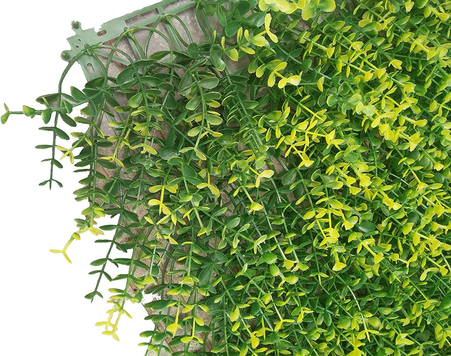 Greenery Hedge Backdrop Plant Privacy Fence Screen Greenery Panels for Faux Green Grass Wall Topiary Plant,