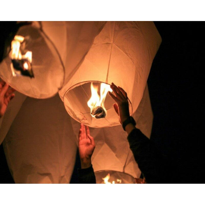 Alcott Hill Chinese Flying Sky Paper Lantern Eco Friendly, 100% Biodegradable  Paper Sky Lantern to Release in Sky