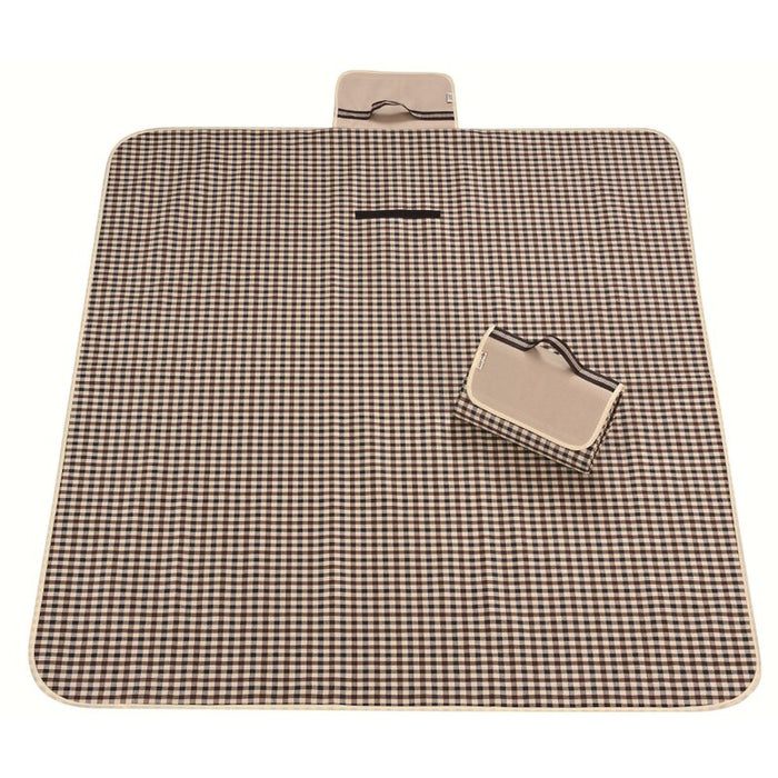 Outdoor Beach/Picnic Waterproof Blanket, Portable Machine Washable Mat Outdoor Accessory for Handy Waterproof Stadium Mat