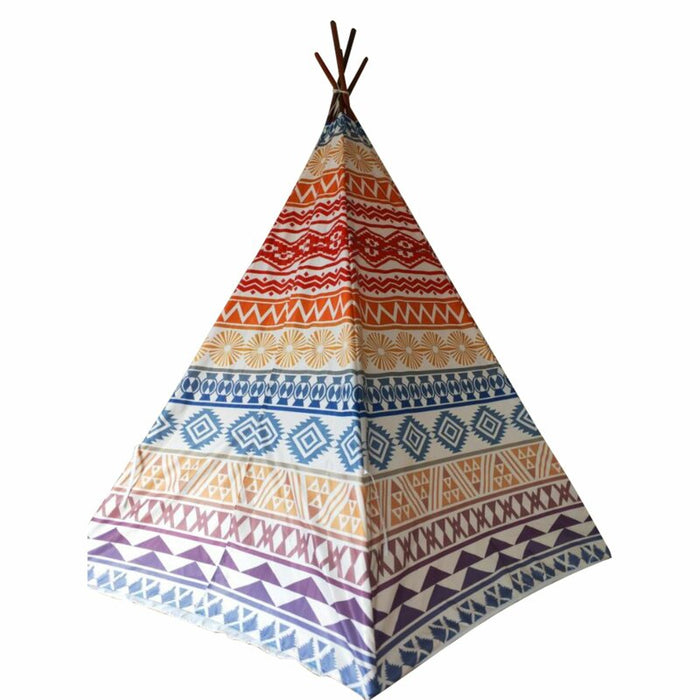 Kids Teepee Children Play Tent, Indian Teepee, Children Playhouse for Indoor Outdoors