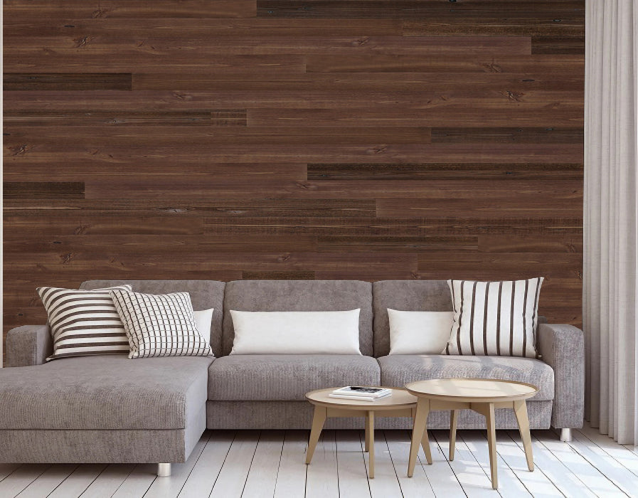 Copy of Self Adhesive Wall Panels Peel & Stick Rustic Reclaimed Barn Wood Paneling (Style: C08)