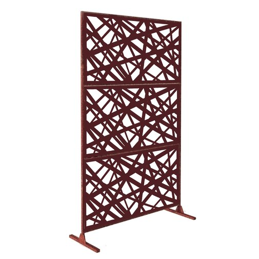 6 ft. H x 4 ft. W Laser Cut Metal Fencing