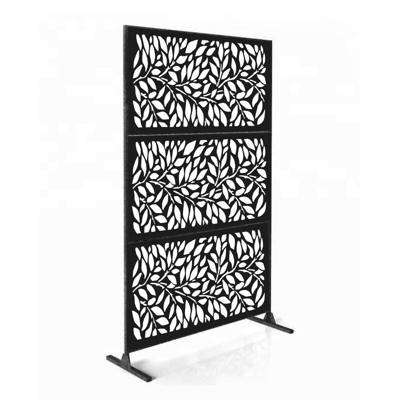 4 ft. H x 6 ft. W Laser Cut Metal Fencing