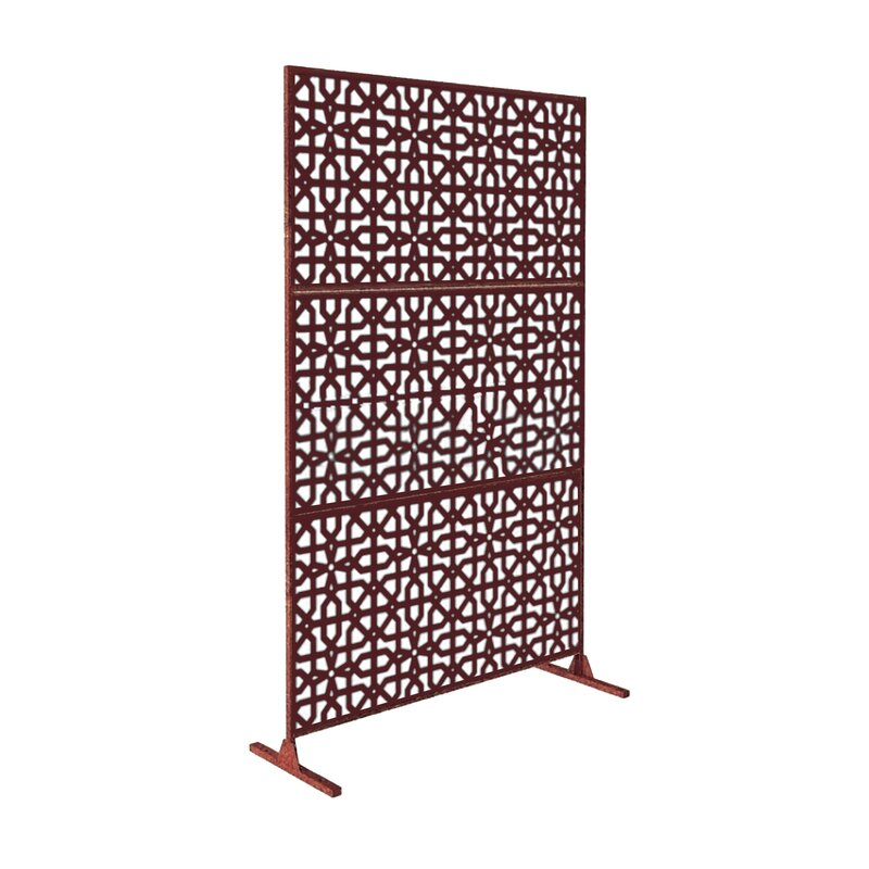 6 ft. H x 4 ft. W Metal Fence Panel