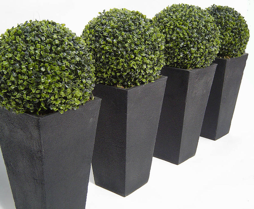 Artificial Boxwood Ball Faux Boxwood Balls, Ball Bush, Indoor Outdoor Use, UV and Water Resistant