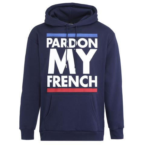HOODIE FRANCE EDITION NAVY BLUE
