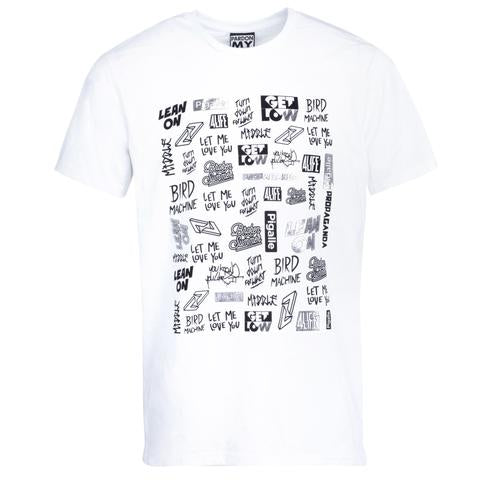 T-SHIRT WALL OF FAME WHITE