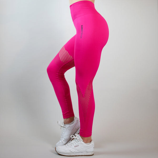 Camila Leggings - Hot Pink