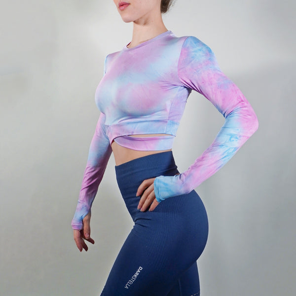 Vitality Crop Top - Cotton Candy