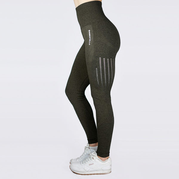 Elisa Leggings - Dark Green