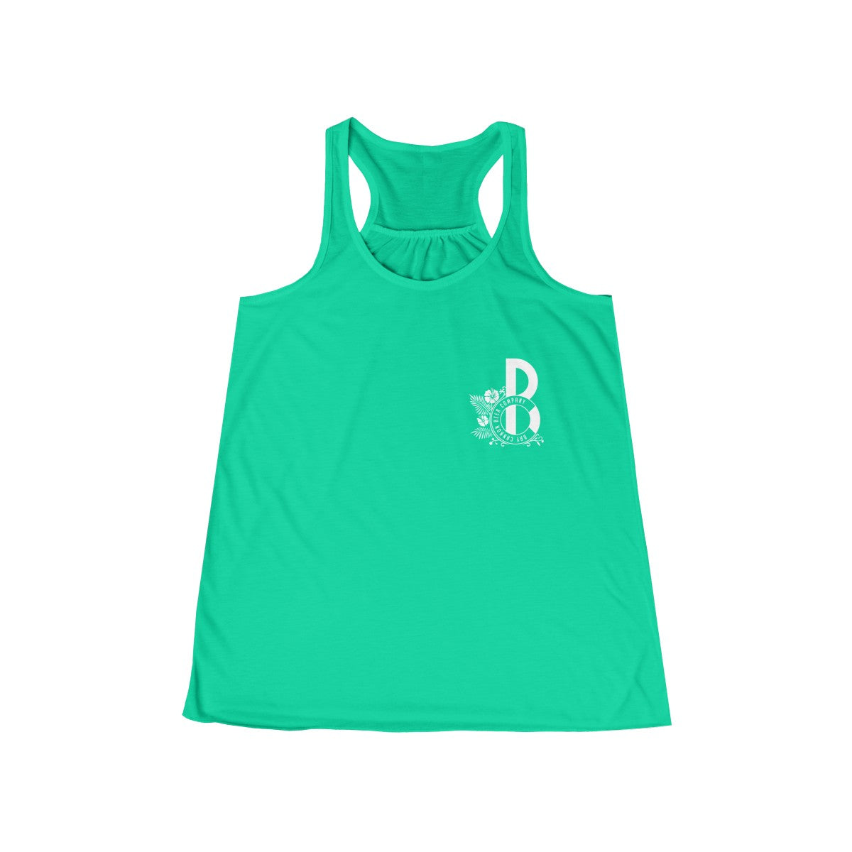 Bay Cannon Beer Company - Teal Flowy Bella + Canvas Tank