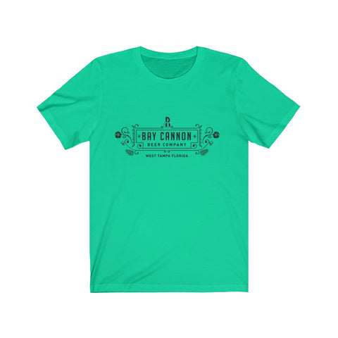 Bay Cannon Beer Company - Teal Bella + Canvas T-Shirt