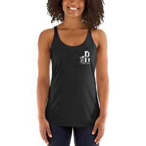 Bay Cannon Beer Company White Logo Women's Tank