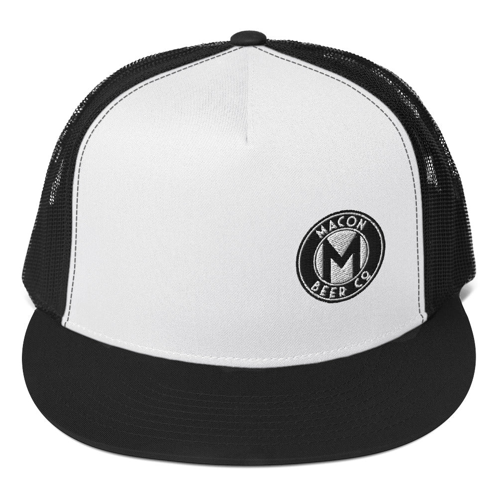 Macon Beer Company - Black, White & Charcoal Trucker Caps