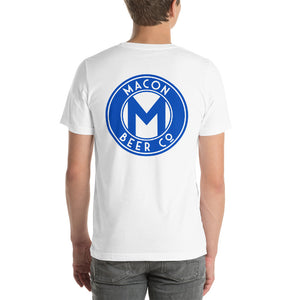 Macon Beer Company White Short-Sleeve Unisex T-Shirt