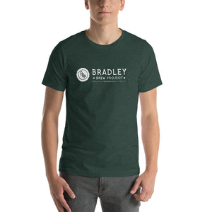 Bradley Brew Project - White Logo T-Shirt