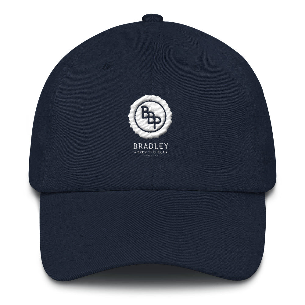 Bradley Brew Pub - Embroidered Navy Dad Hat