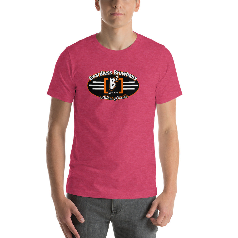 Beardless Brewhaus - Color Logo Short-Sleeve Unisex T-Shirt