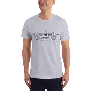 Bay Cannon Beer Company T-Shirt w/ Black Full Logo