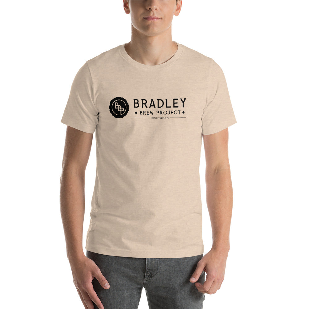 Bradley Brew Project - Black Logo T-Shirt