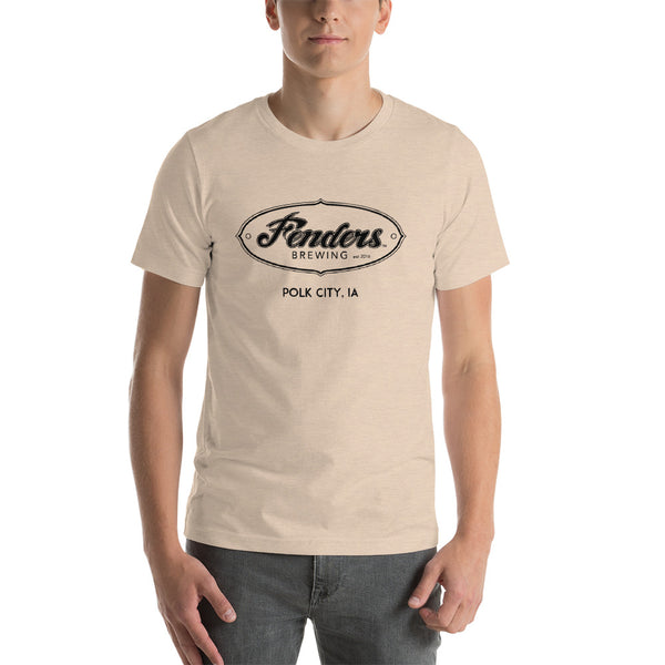 Fenders Brewing - White Logo Bella + Canvas T-Shirt