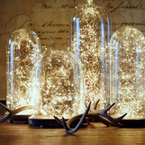 https://transparent-things.com  Transparent-Things Copper Wire LED String Light Christmas Decoration #transparentthingsstore