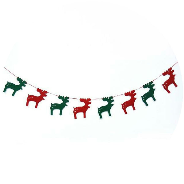 https://transparent-things.com - Christmas Decorations, 3m Stocking Banner & Non-woven Fabric Hanging Ornaments - Transparent-Things - #transparentthingsstore