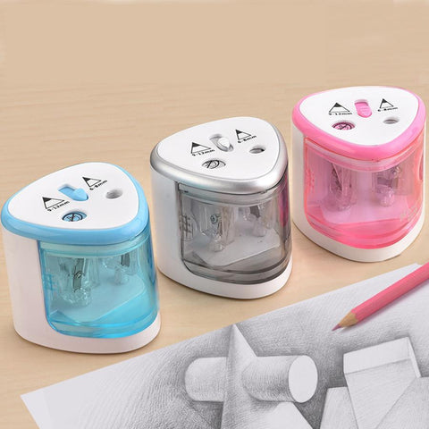 https://transparent-things.com - Battery Operated Electric Pencil Sharpener - Transparent-Things - #transparentthingsstore
