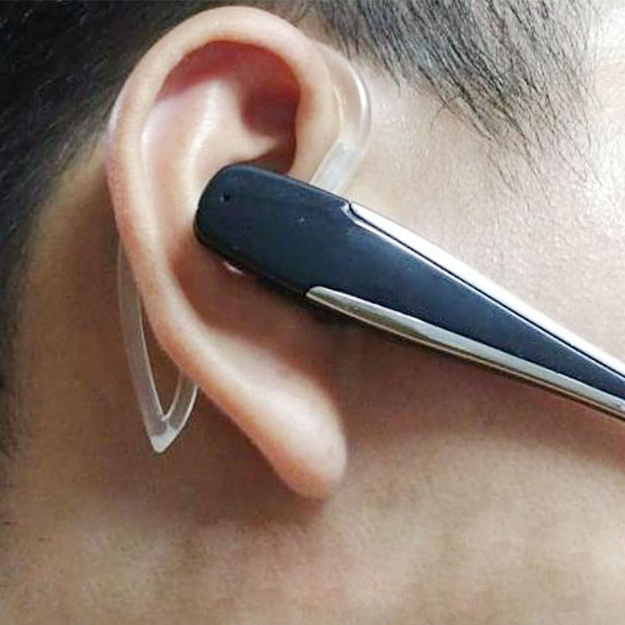 https://transparent-things.com - Bluetooth Earphone Ear Hook - Transparent-Things - #transparentthingsstore