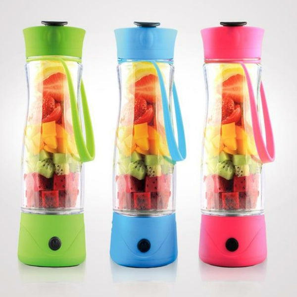 https://transparent-things.com - USB Rechargeable Automatic Juicer Cup - Transparent-Things - #transparentthingsstore