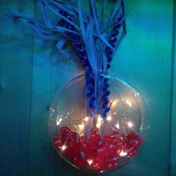 https://transparent-things.com - 2M LED Garland Copper Wire Corker String Valentine/Wedding/Christmas Fairy Lights - Transparent-Things - #transparentthingsstore