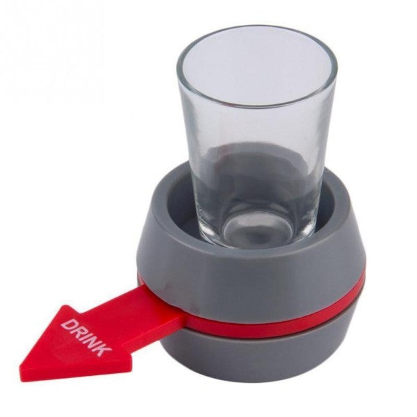 https://transparent-things.com - Turntable Roulette Drinking Game With Spinning Wheel Bar - Transparent-Things - #transparentthingsstore