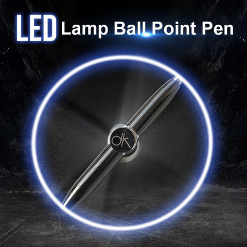LED Light Multi-function Gyroscope Pen