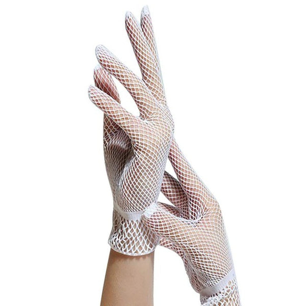 https://transparent-things.com - Fashion Fishnet Gloves - Transparent-Things - #transparentthingsstore
