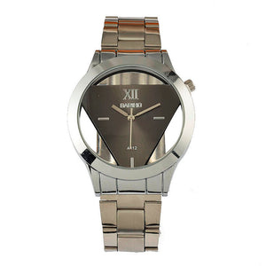 https://transparent-things.com - Triangle Transparent Watch Men Watch, Luxury Men's Watch - Transparent-Things - #transparentthingsstore