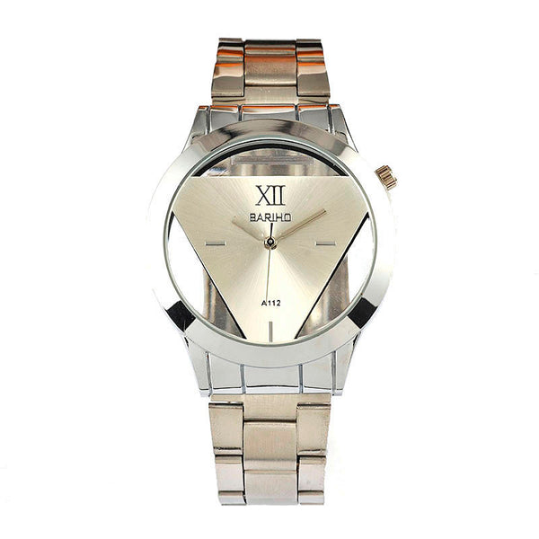 https://transparent-things.com - Triangle Transparent Men's Watch - Transparent-Things - #transparentthingsstore