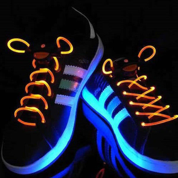 https://transparent-things.com - LED Waterproof Shoelaces - 3 Modes - Transparent-Things - #transparentthingsstore