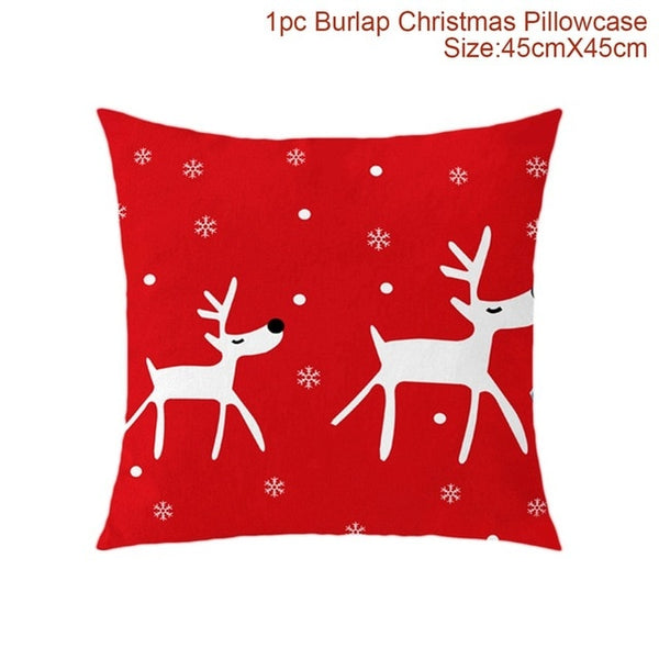 https://transparent-things.com - Christmas Pillowcase Cover - Transparent-Things - #transparentthingsstore