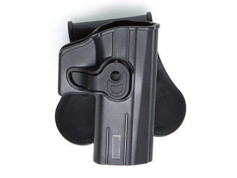 Strike Systems C75D ABS Holster Blk