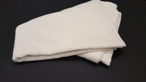"Snag Free Blankets - 66X90""- 2.5 Lbs. White (60 pieces)"