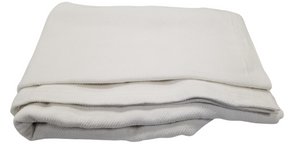 "Thermal Blankets Leno Weave 66x90"" 2.2 Lbs. White (48 pieces)"